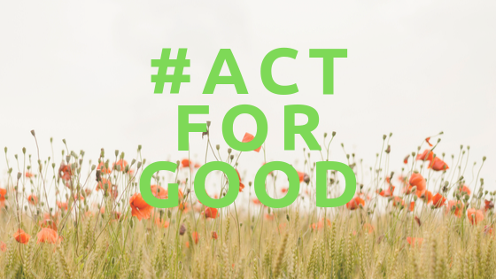 #Act for good